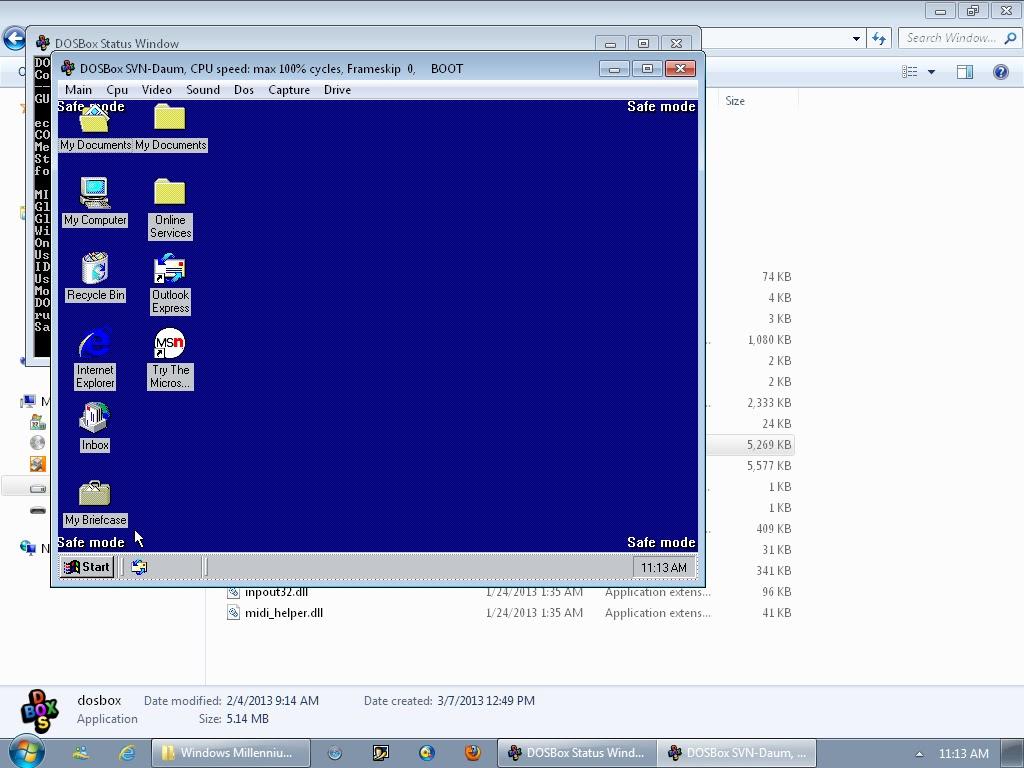 Dosbox для windows