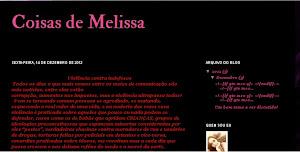 Coisas de Melissa