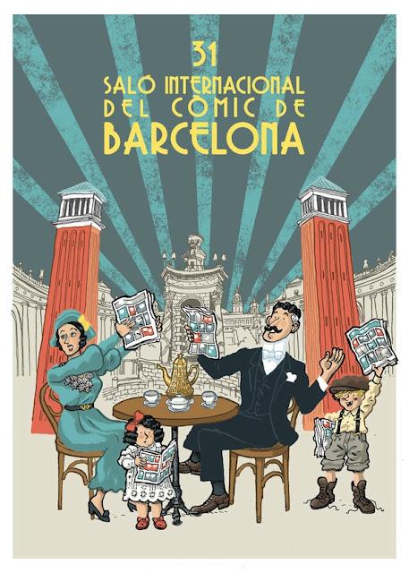 BApfXf CMAEcZL6.jpg large - EN CATALUNYA: Salón Internacional del Cómic de Barcelona