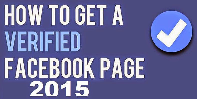 Submit Facebook Page for Request a Verified Badge or Logo 2015 image photo