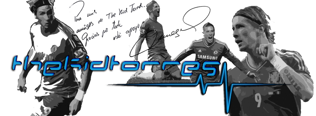 El blog sobre Fernando Torres, The Kid of Chelsea FC