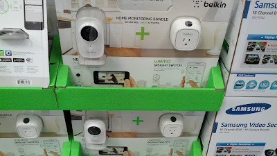 Bundle includes Belkin F5Z0559 Netcam HD+ and WEMO Insight Switch