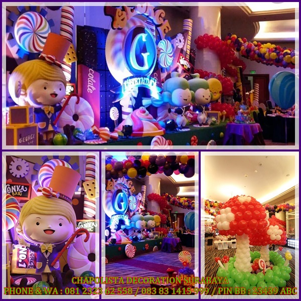 SURABAYA BIRTHDAY DECORATION