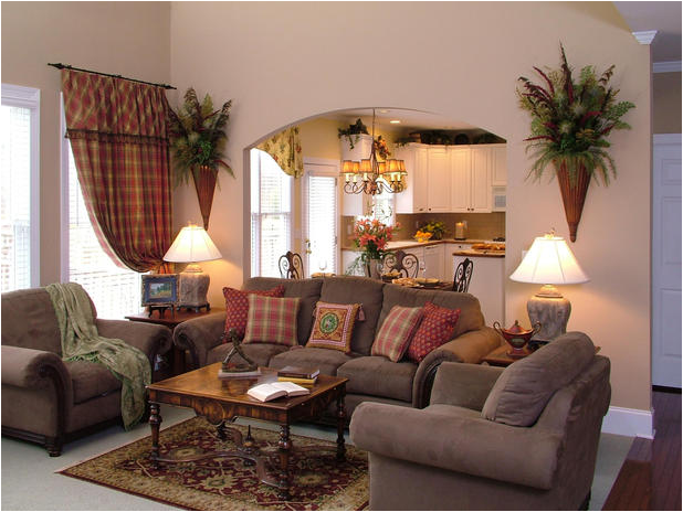 Traditional living room design ideas home interior for Living layout ideas