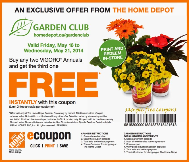 Home Depot Coupons October 2014