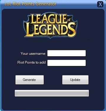riot points code generator lol