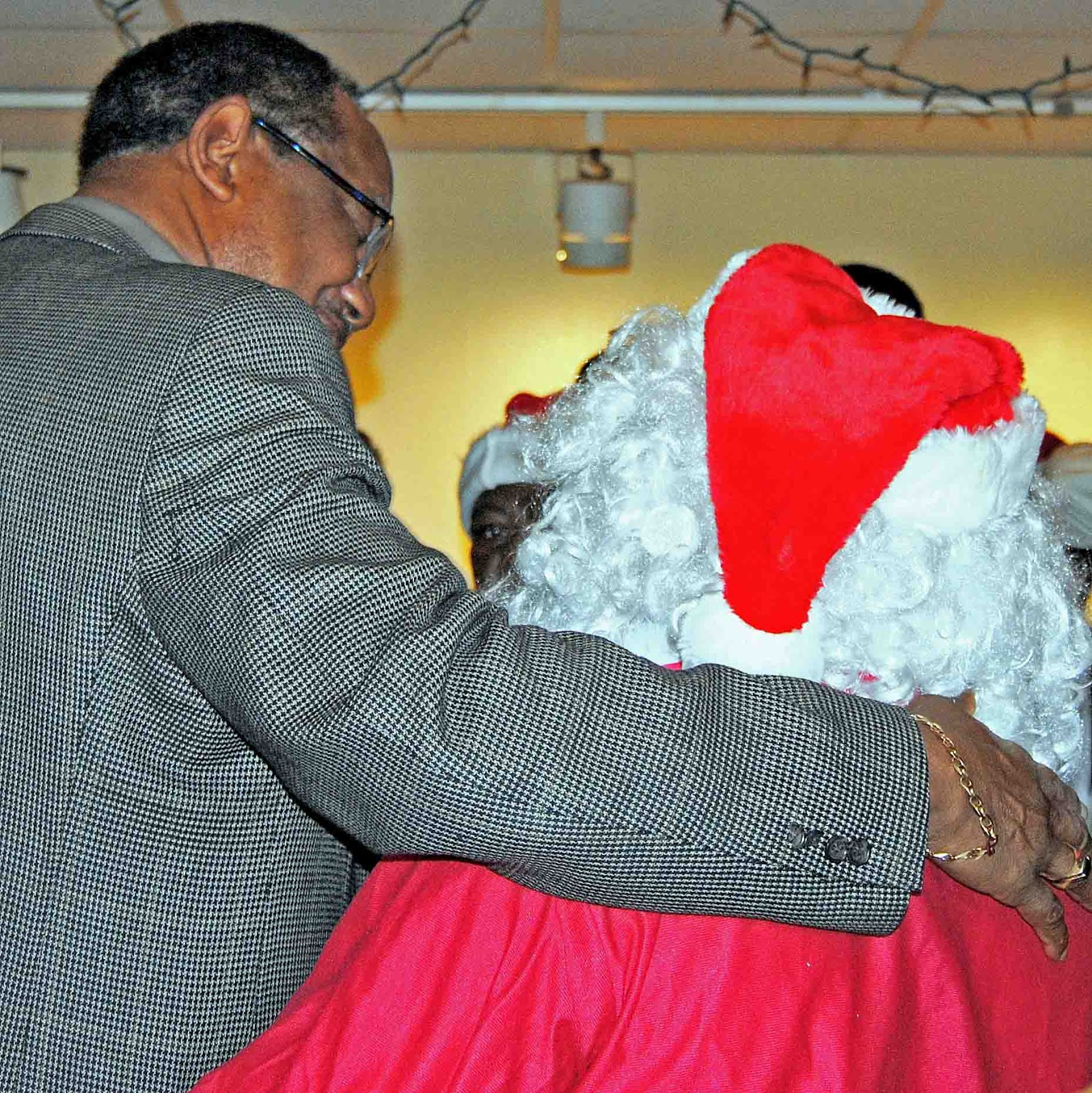 Selma Ala Daily Photo The Mayor And Mr Claus
