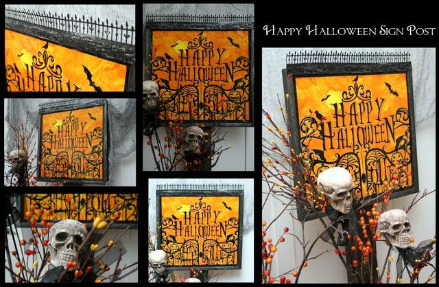 Halloween+Sign1 Halloween Sign Post