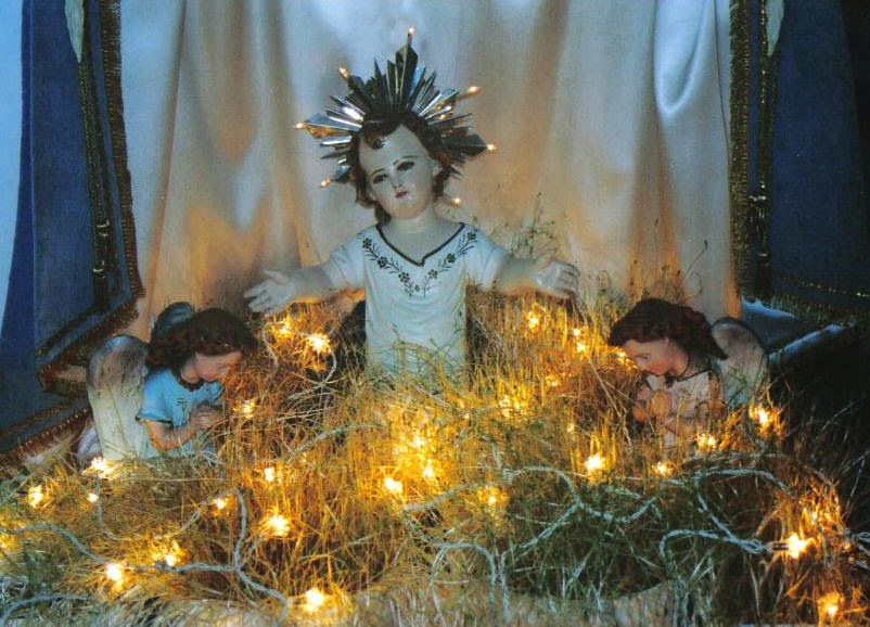 Father julian 39 s blog christmas past for Baby jesus christmas decoration