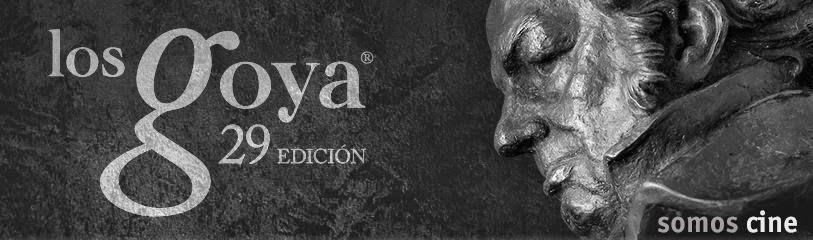 Ceremonia de entrega de los Goya, febrero 2015, La Isla mínima