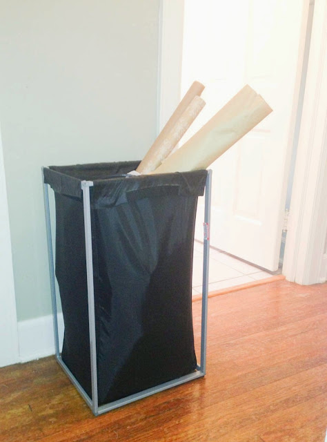 Laundry Hamper Turned Beautiful Modern Side Table Ikea