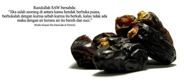 1001 khasiat, kelebihan kurma, ramadhan, puasa, thamar.