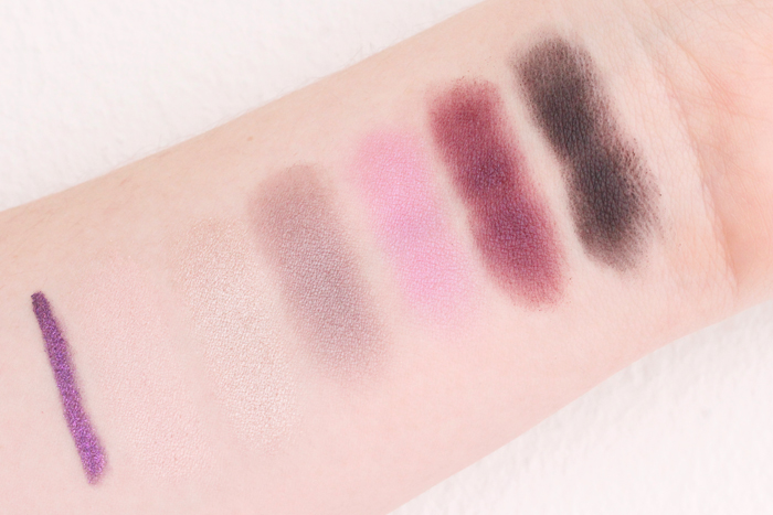 MAC Collection Toledo: Swatches, First Impression