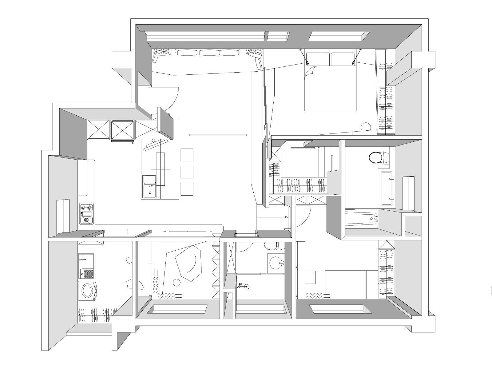 準建築人手札 Forgemind Archimedia 牧易設計 Mmuuii Design S Apt 室內設計提案