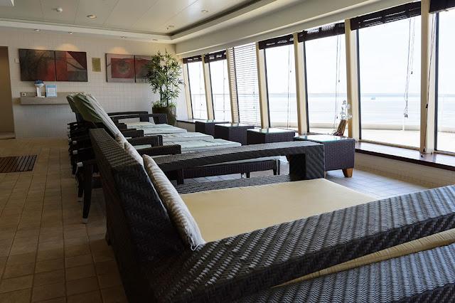 Spa aboard the Norwegian Pearl