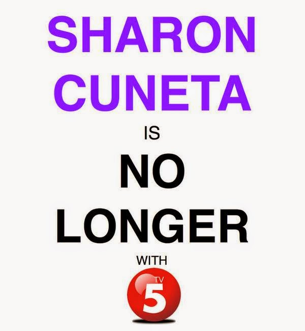 Sharon Cuneta is no longer with TV5
