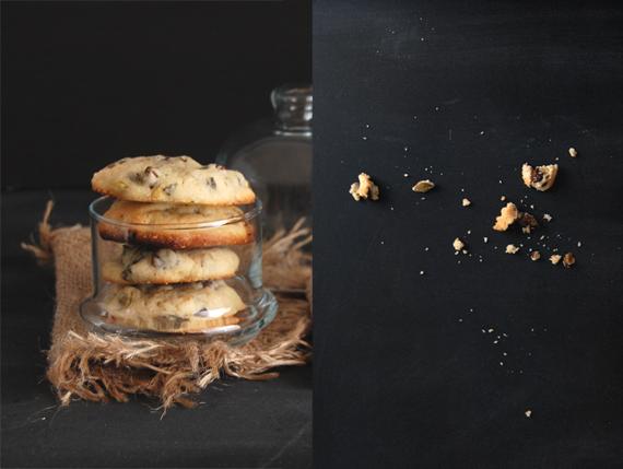 Madame gateau biscuits d 39 automne aux p pites de chocolat - Graines de citrouille grillees au four ...