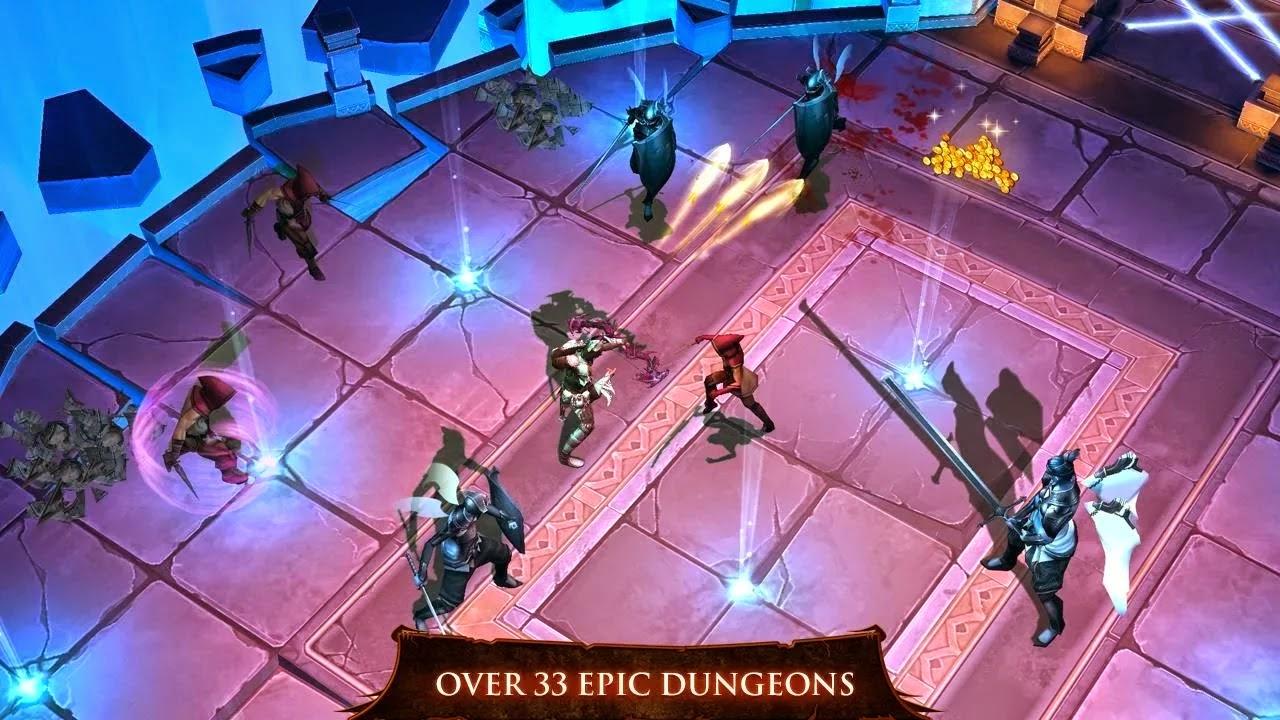 Dungeon Hunter 4 v1.7.0r Mod [Unlimited Gold/Gems]