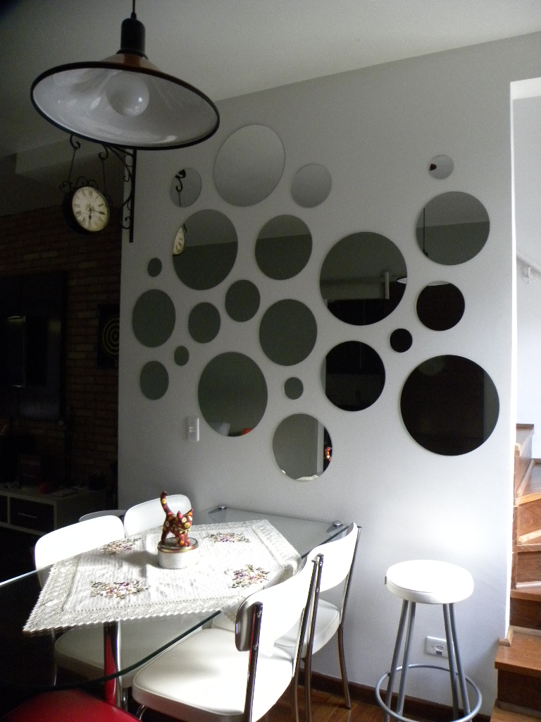 Espelho Para Sala De Jantar Tabaco ~ Lily Zemuner Os espelhos da minha sala de jantar