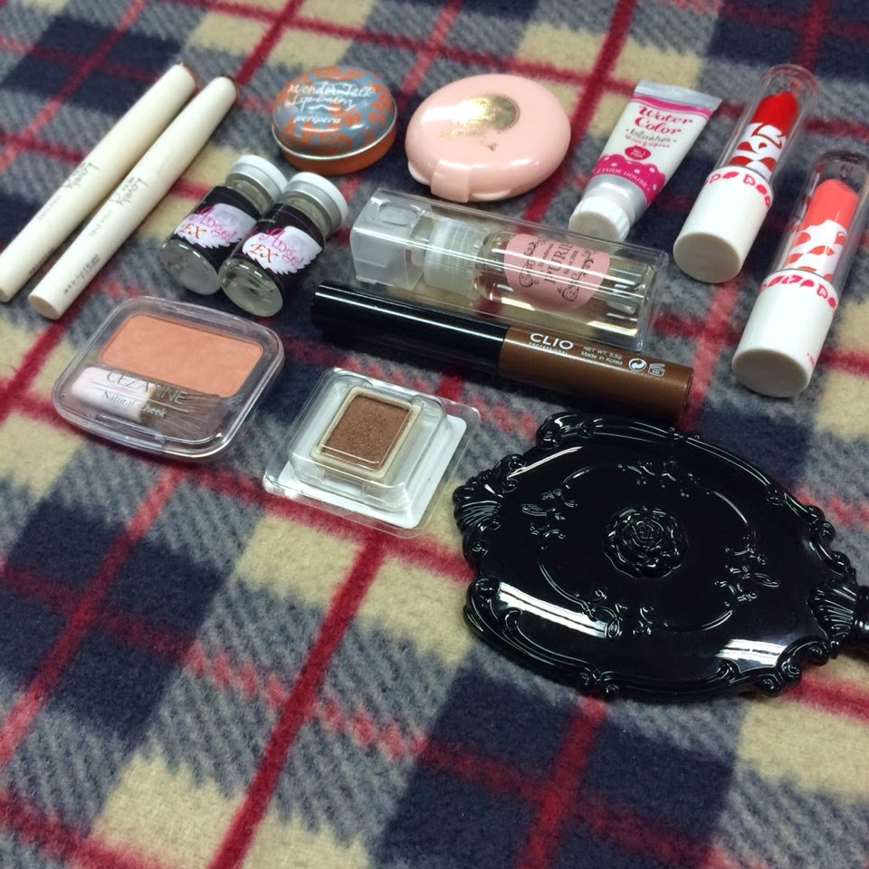 Cosmetics, Lip Balm, Lip Stick, Shadow, Powder, Cheek, Color Lens