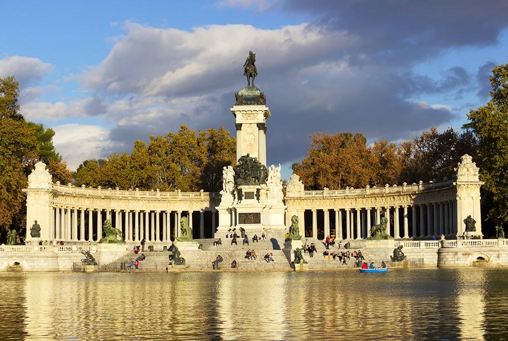 fotografía estanque El Retiro Madrid