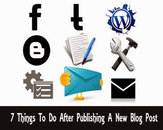 7 Things To Do After Publishing A New Blog Post