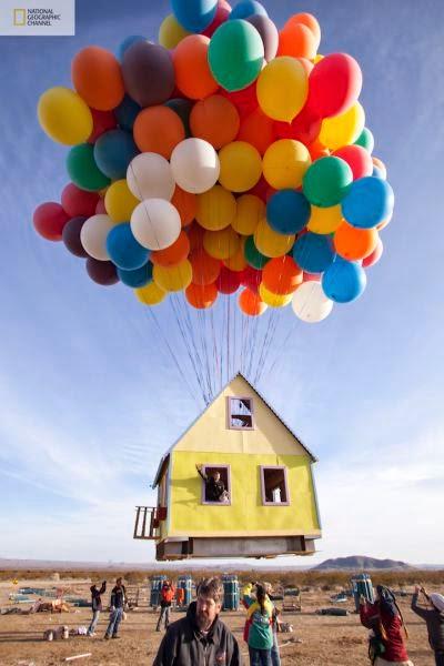 منزل يطير الهواء أدخل وشاهد