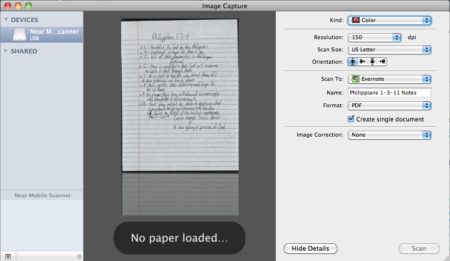 combine scans into one pdf mac
