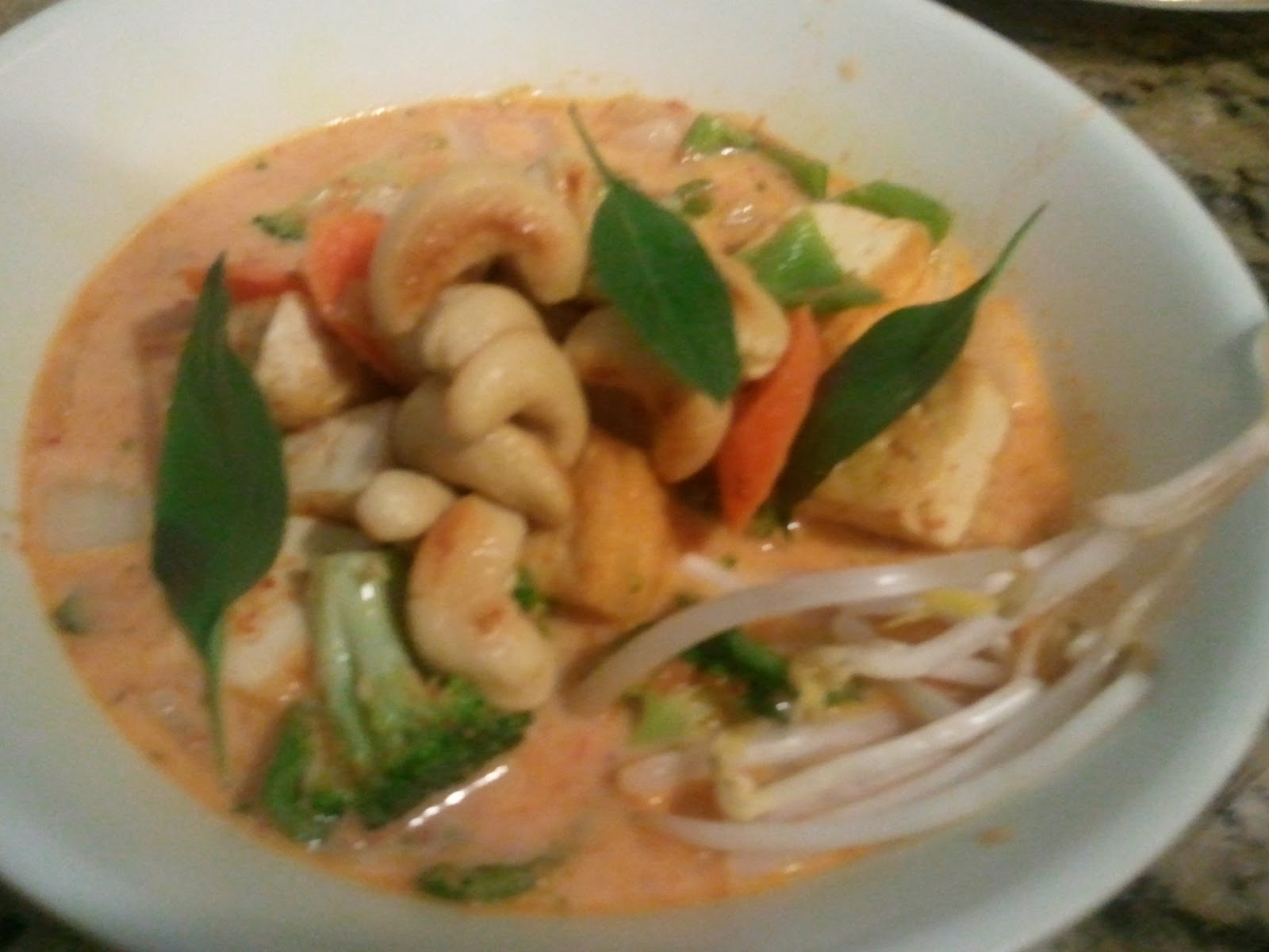 HCF: Panang curry with Tofu and Vegetables