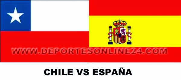 Chile vs España Mundial Brasil 2014