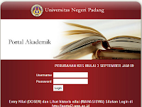 Portal UNP (Universitas Negeri Padang)