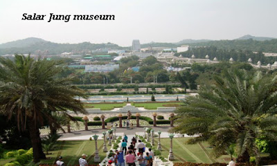 Salar Jung museum of the tourist attractions in Hyderabad