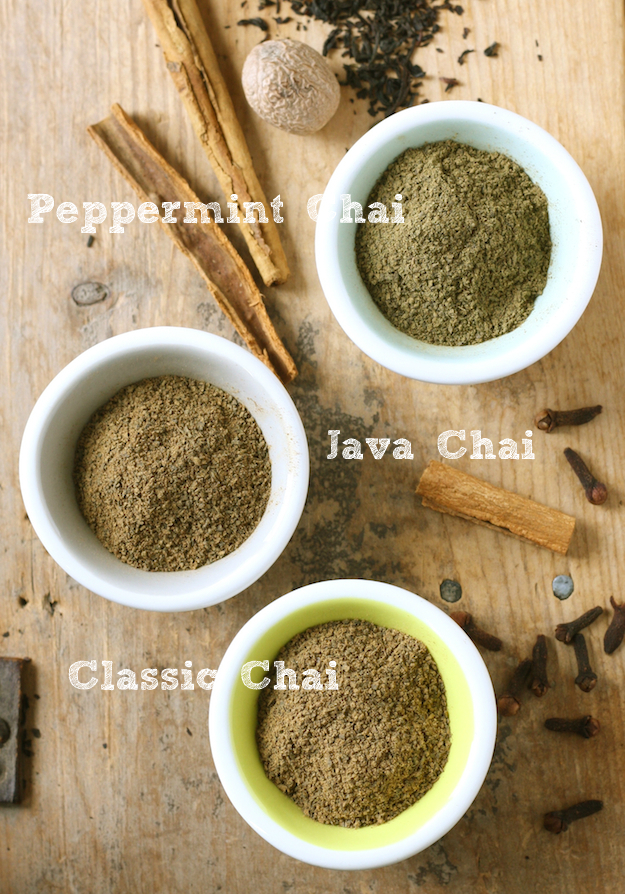 Chai Tea Blend, Java Chai Tea & Peppermint Chai Tea Blend available at SeasonWithSpice.com
