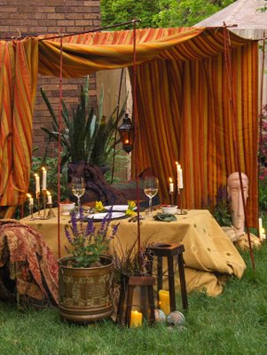 Bohemian Outdoor Party