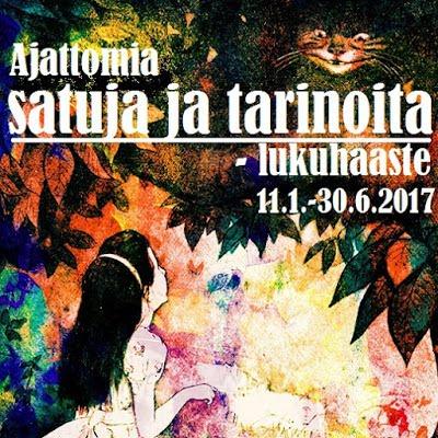 Ajattomia satuja ja tarinoita -lukuhaaste (11.1. - 30.6.2017)