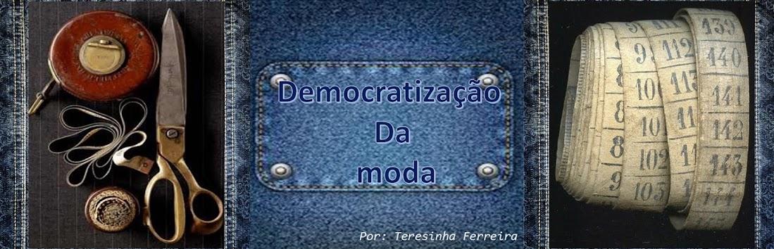 Democratização da moda