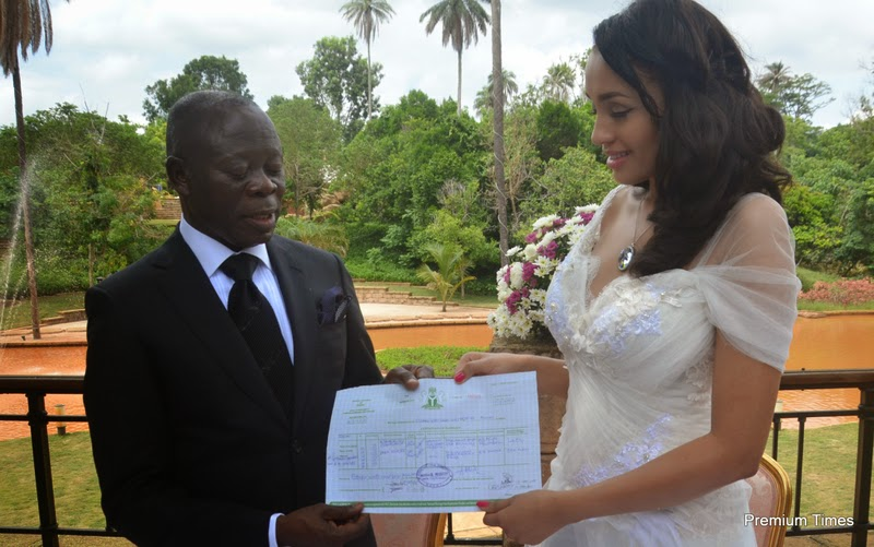 adams oshiomhole wedding pictures