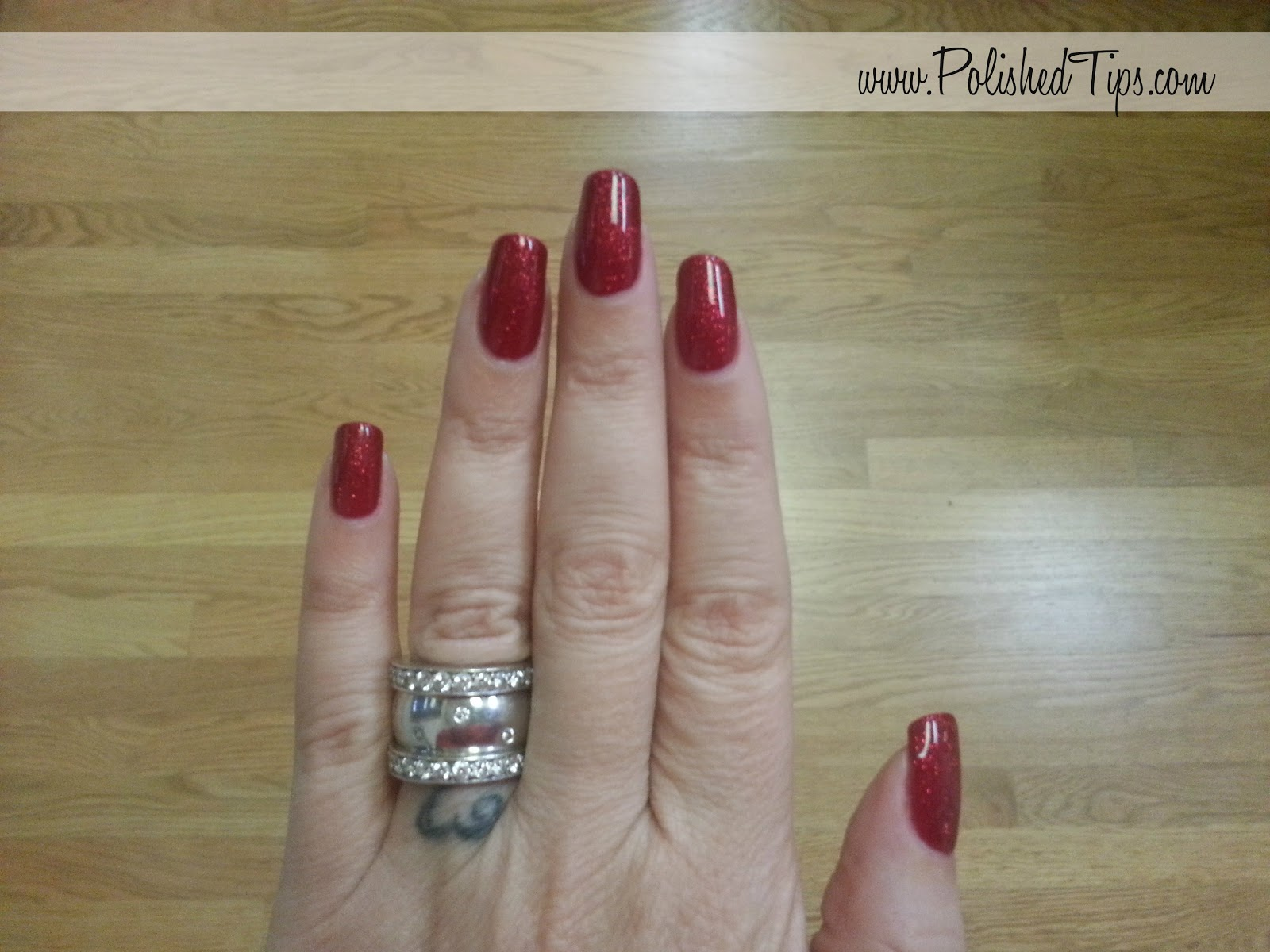 Shiny Polished Red Nails  Apps Directories