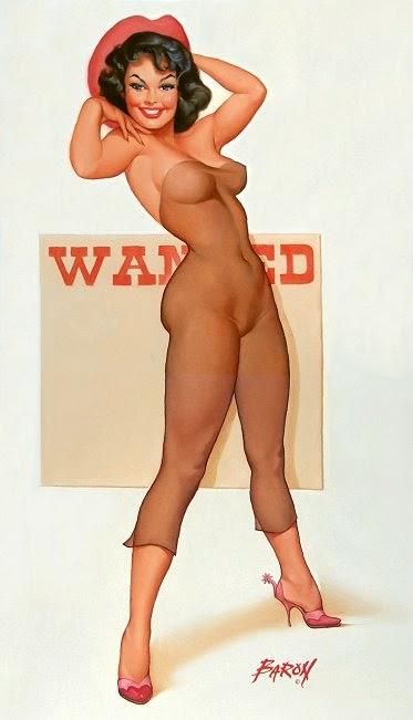 pintura de mulher sensual