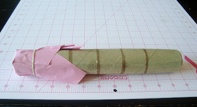diy wand cardboard tube