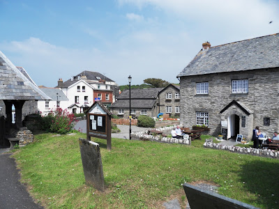 Mortehoe village North Devon