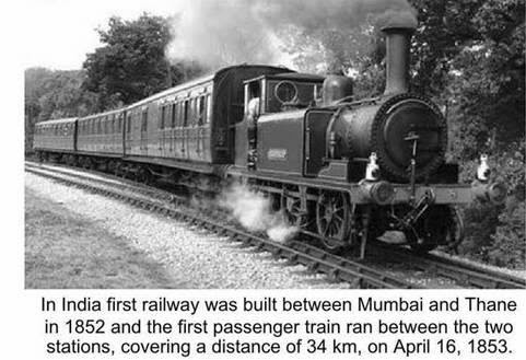 first train in india rare pics