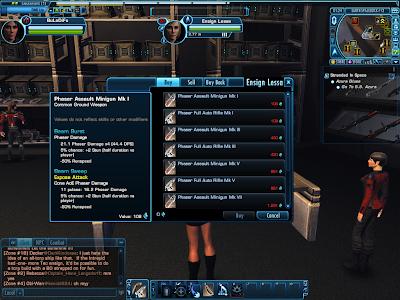 Star Trek Online - Phaser Assault Minigun