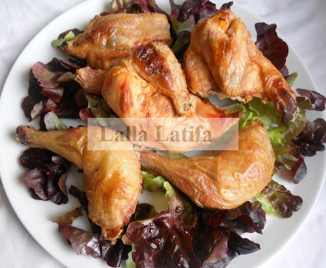 Les secrets de cuisine par lalla latifa poulet cuit au sel for Secrets de cuisine