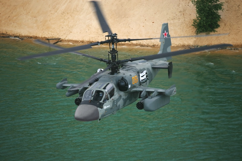 Ka-50 is Russian Attack Helicopter