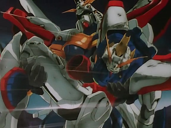 Goodbye Shining Gundam, hello God Gundam