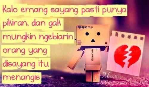 Gambar Foto DP BBM Sakit Hati karena Cinta