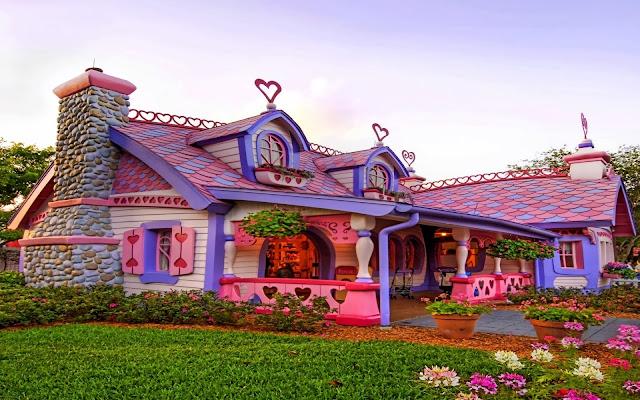 красивый сказочный дом
