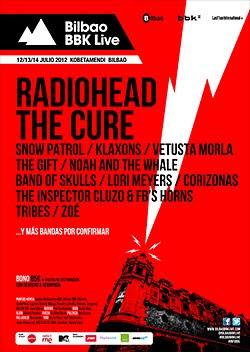 The Cure y Corizonas al Bilbao BBK Live Festival 2012