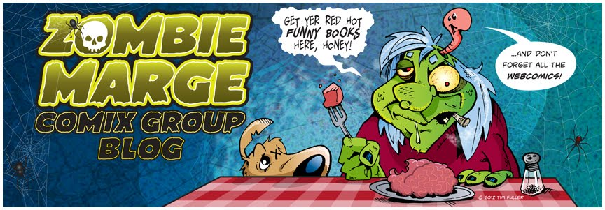 Zombie Marge Comix Group Blog